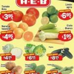 HEB Frutas y Verduras 12 Mayo