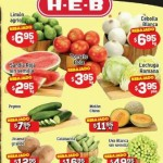 HEB Frutas y Verduras 26 Mayo