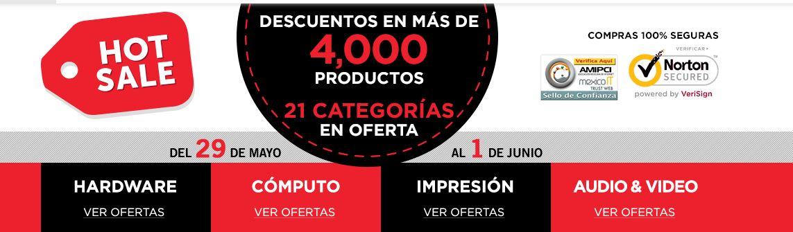 Hot Sale Cyberpuerta: Hasta 30% de Descuento en Más de 4,000 productos