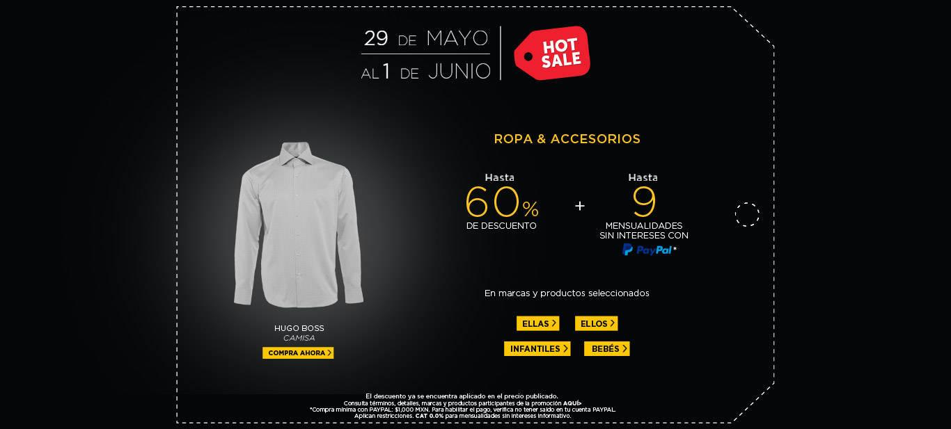 Hot Sale Palacio de Hierro: 25% de Descuento o hasta 15 meses sin intereses