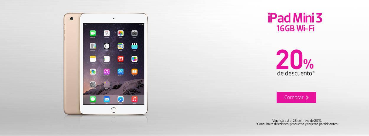 Liverpool: iPad Mini 3 a $4,799