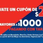 Netshoes cupon de 250 pesos OFFDE