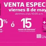Venta Especial Viernes 8 de Mayo OFFDE