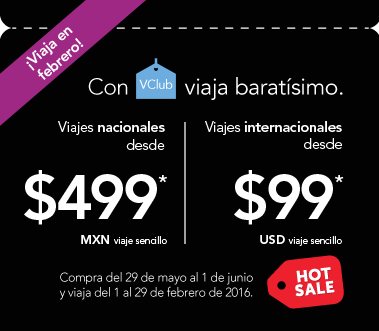 Hot Sale Volaris: Vuelos Nacionales desde $499 e Internacionales desde $99 US