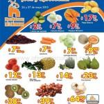 chedraui martes y miercoles de frutas y verduras 26 y 27 de Mayo Offde
