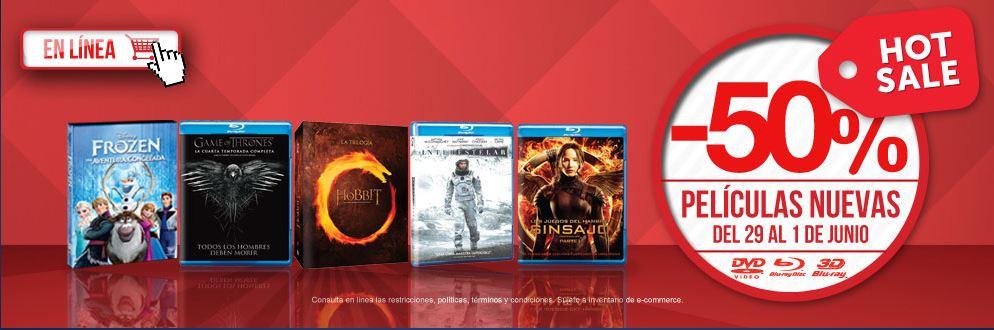 Hot Sale Blockbuster: 50% de descuento en películas nuevas y más