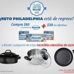 philadelphia llevate sarten u olla mas 30 pesos OFFDE