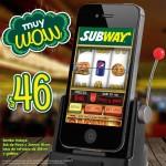 subway combo a $46 OFFDE