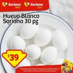 tarjeta leatad soriana huevo blanco OFFDE