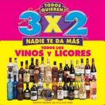 3x2 en vinos y licores julio regalado Offde
