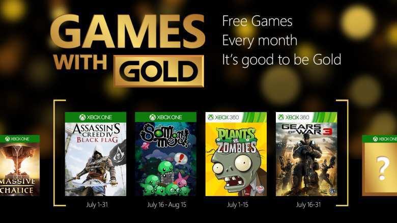 Xbox Live: Juegos Gratis con Xbox Gold en Julio 2015