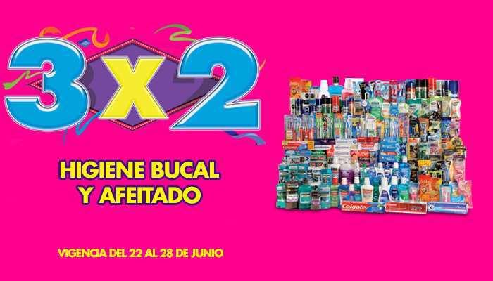 Julio Regalado 2015: 3×2 en Toda la Higiene Bocal y Afeitado