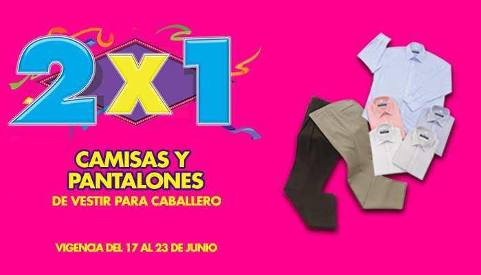 Julio Regalado 2015: 2×1 en Camisas y Pantalones para Caballero