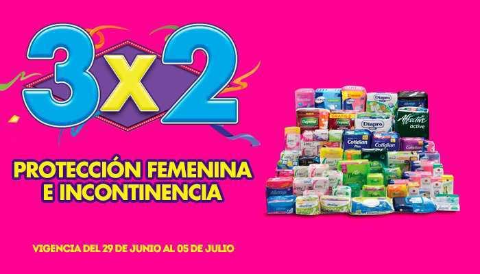 Julio Regalado 2015: 3×2 en Protección Femenina e Incontinencia