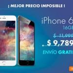 Linio iPhone 6 8,900 OFFDE