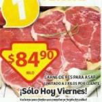 Soriana Carne para Asar 12 junio