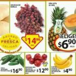 Soriana frutas y verduras 30 Jun