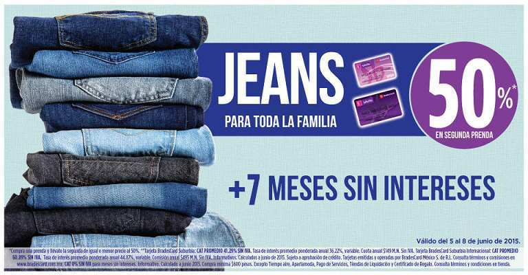 7192d0494bd9a Suburbia  Jeans Para Toda la Familia 50% de Descuento en Segunda Compra