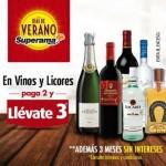 Superama 3x2 en vinos y licores en Offde