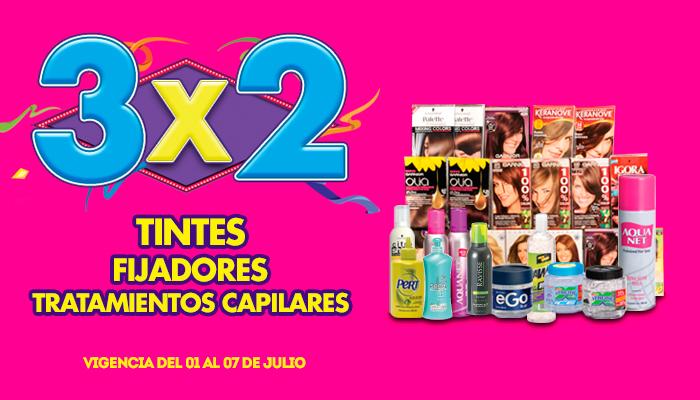 Julio Regalado 2015: 3×2 en tintes, fijadores y tratamientos para Cabello