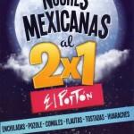 noches mexicanas al 2x1 en el porton