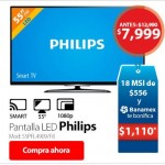 walmart Hot Sale Pantalla Philips 55 pulgadas