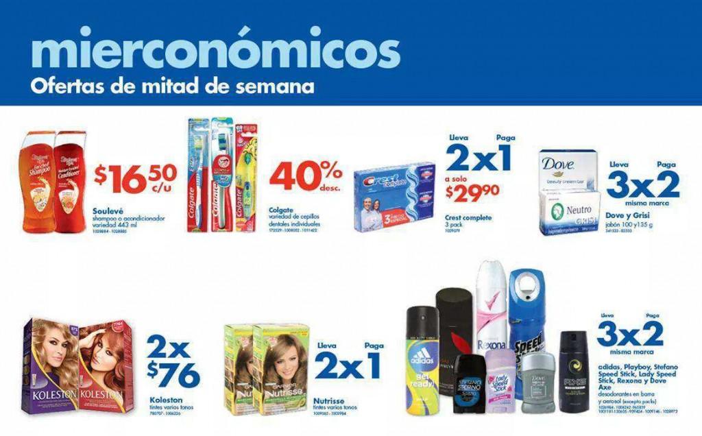 Farmacias Benavides: 3×2 en Jabón Dove, Grisy, Desodorantes y más
