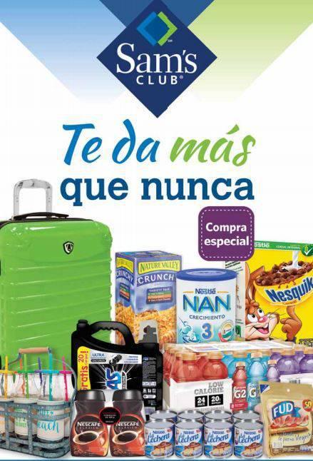 Sam's Club: Cuponera del 1 al 15 de Julio 2015