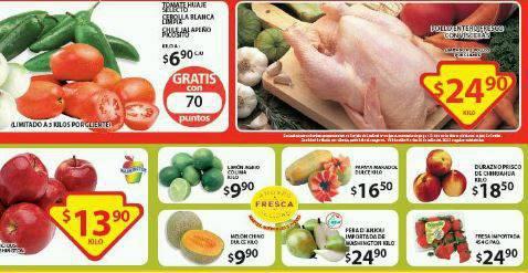 Soriana: Martes y Miércoles de Frutas y Verduras del 20 y 21 de Julio