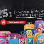 HEB Mochilas y loncheras OFFDE