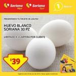Huevo Blanco Soriana 23 jul OFFDE