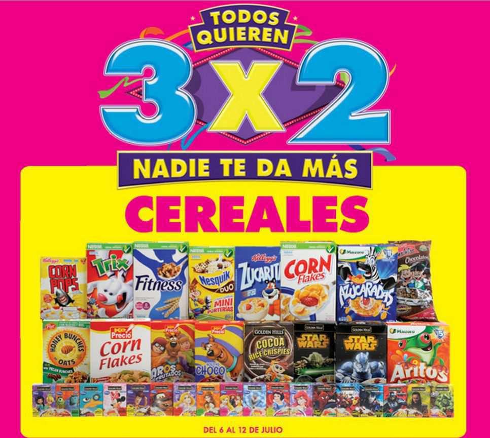 Julio Regalado 2015: 3×2 en Cereales