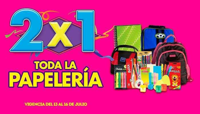 Julio Regalado 2015: Toda la Papelería al 2×1