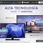 Linio Televisiones Paypal OFFDE
