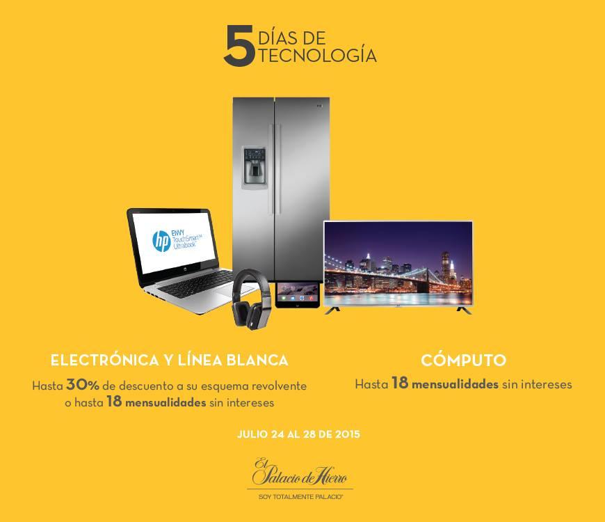 Palacio de Hierro: 5 Días de Tecnología Hasta 30% de Descuento