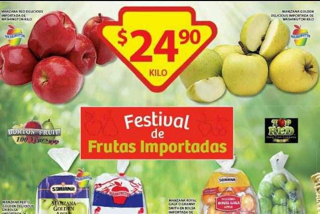 Soriana: Festival de Frutas Importadas 3 de Julio