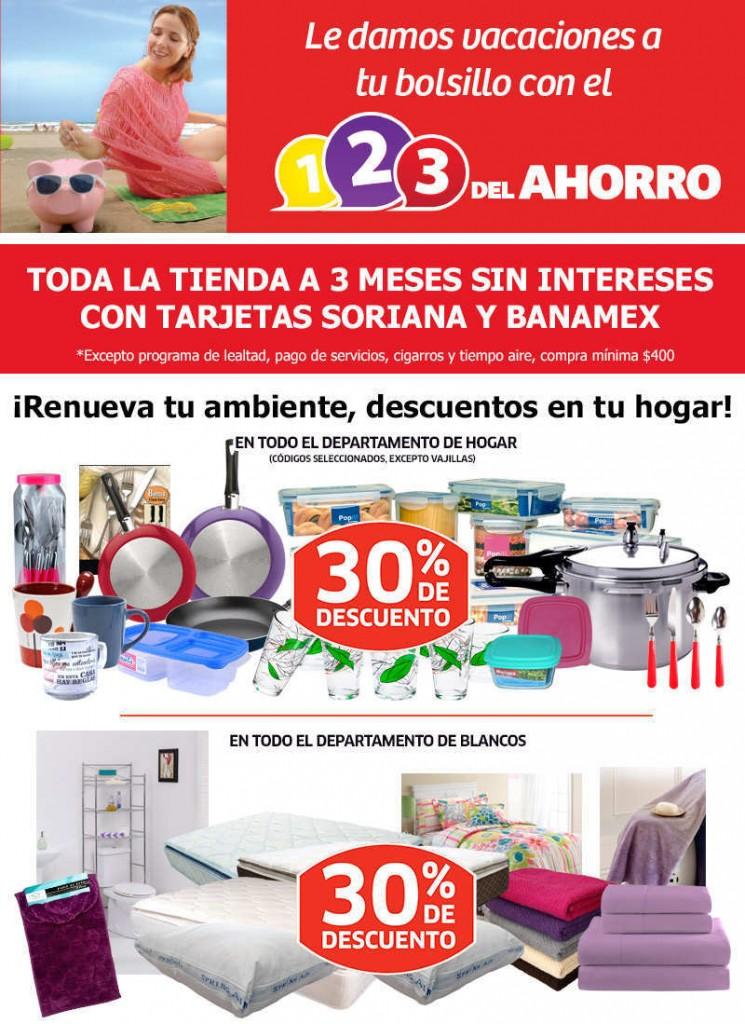 Soriana: Promociones de Fin de Semana del 3 al 4 de Julio