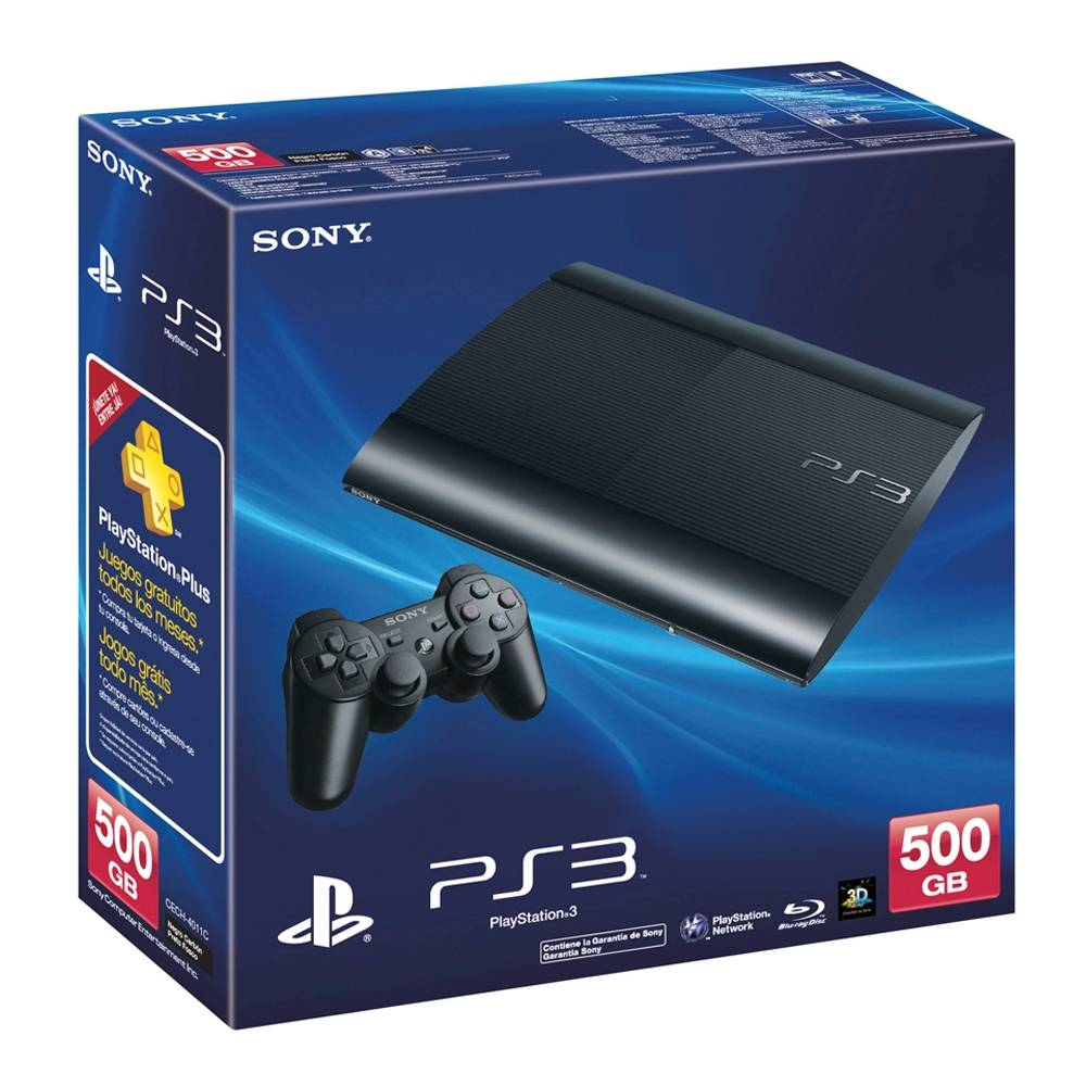 Walmart: Outlet Consola PlayStation 3 500 GB a $2,990