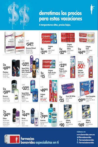 Farmacias Benavides: Folleto de Promociones del 13 al 30 de Julio