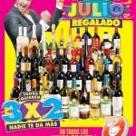 folleto de julio regalado del 3 al 9 de julio