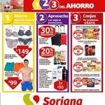 folleto de promociones soriana del 3 al 14 de julio