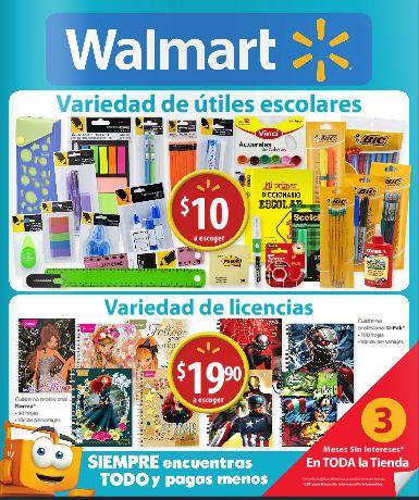 Walmart: Folleto de Promociones del 30 de Julio al 12 de Agosto