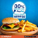 hellofood desceunto pagando con paypal