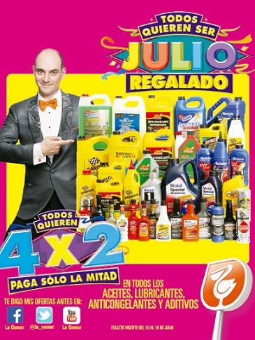Julio Regalado 2015: Folleto de promociones del 10 al 16 de Julio