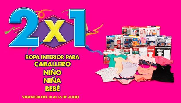 Julio Regalado 2015: $40 por cada $100 de compra en Juguetería y 2×1 en Ropa interior para la familia