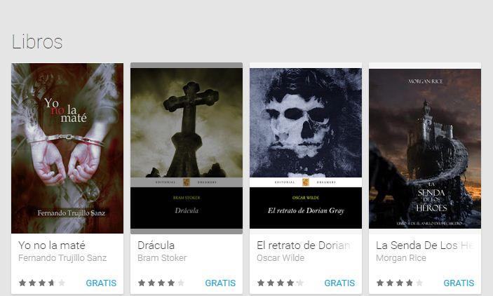 Google Play: Libros Gratis Drácula, El arte De La Guerra y más