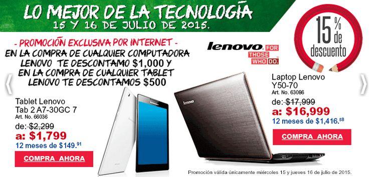 Office Depot: Lo Mejor de la Tecnología 15 y 16 de Julio