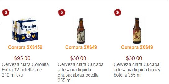 Superama: Promociones en Cervezas