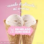 2x1 en helado duro doble nutrisa