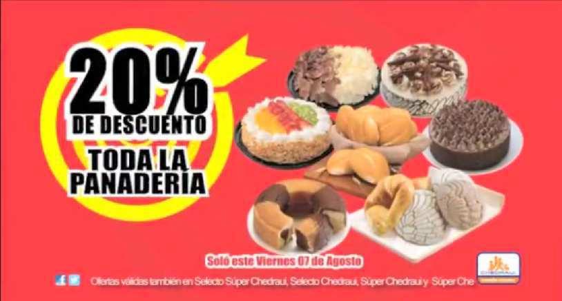 Chedraui: Promociones de Fin de Semana 20% en Panadería y Papelería y Más